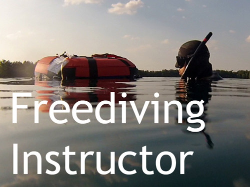 Werde Freediving Instructor