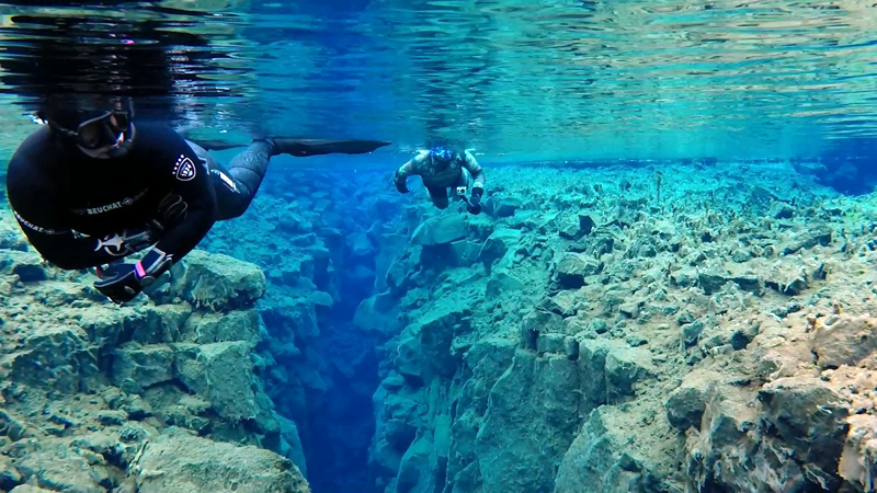 Freediving Silfra @ Free-Diving.de