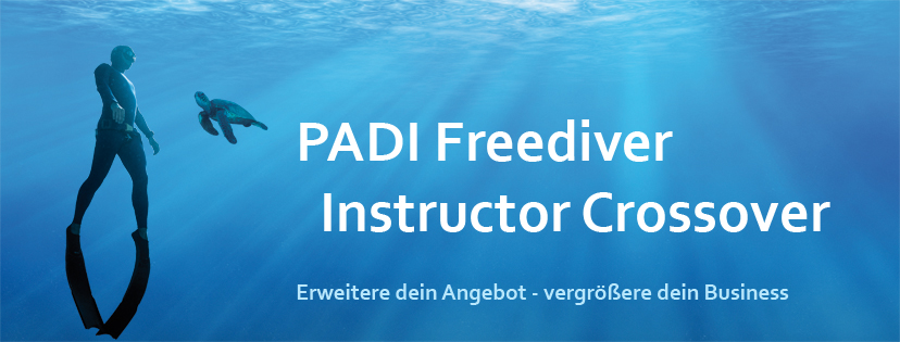 PADI Freediver Instructor Crossover