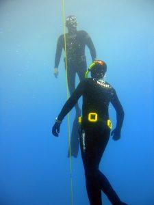 Sicherung Tieftauchen @ Free-Diving.de