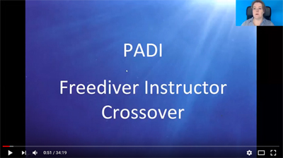 PADI Freediver Instructor Crossover Kurs