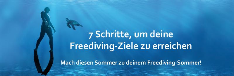 7 Schritte, um deine Freediving-Ziele zu erreichen