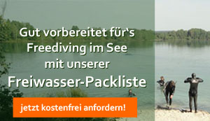 Fordere unsere kostenfreie Freiwasser-Packliste an!