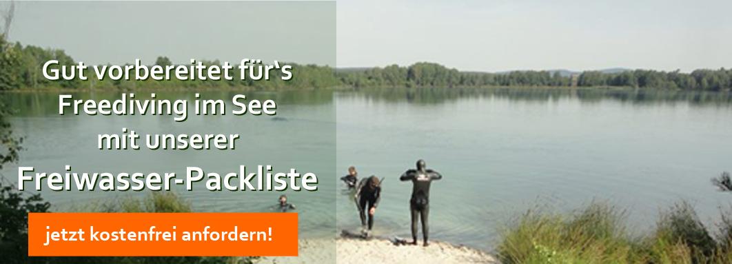 Freiwasser-Packliste