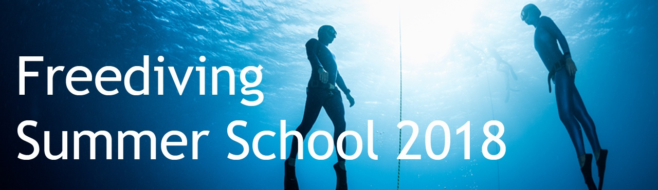 Freediving Summer School 2018 @ Free-Diving.de