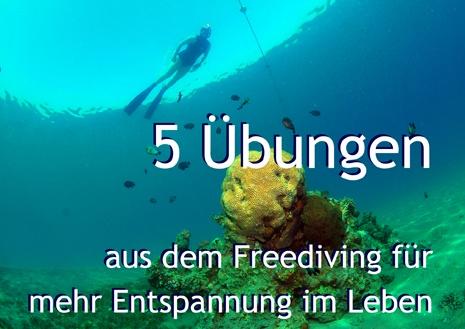 5 Übungen aus dem Freediving für mehr Entspannung im Leben