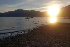 Sonnenuntergang Lago Maggiore