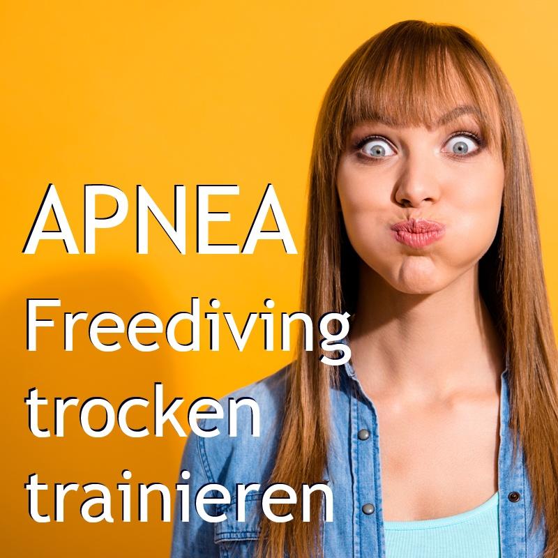 APNEA - Freediving trocken trainieren